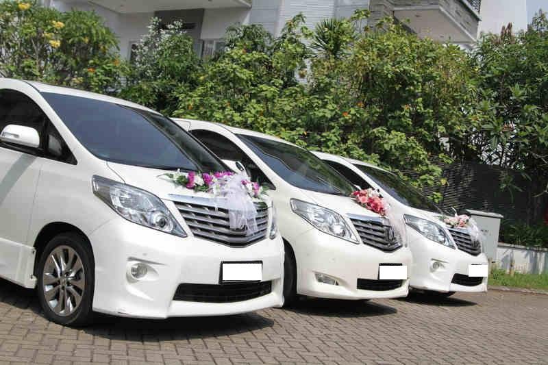 sewa mobil alphard mewah di jakarta untuk calon pengantin
